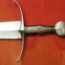 История меча (5): одноручный готический меч