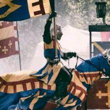Штандарты средневековых рыцарей