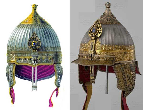 знают что картинка шлем русского богатыря такой вид