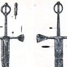 Двуручный ирландский меч: особое навершие