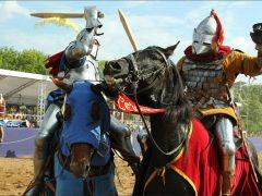 Рыцарский турнир (2): деревянное оружие рыцарей