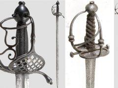 «Корзинчатые» мечи (3): покойницкий меч, скъявона и валлонская шпага