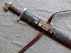 Как кует меч каролингского типа Джефф Хелмс