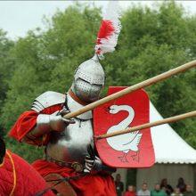 Рыцарский щит «тарч»: выпуклый внутрь
