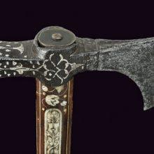 Украшенный боевой топор XVII века