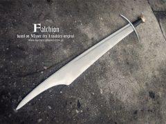 Фальшион из Парижа от мастерской «Swordmaker»