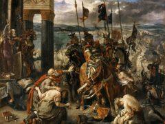 Вступление крестоносцев в Константинополь