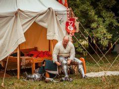 Цвет истории: рыцарский лагерь