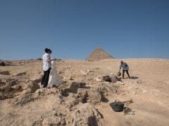 Российские раскопки на плато Гиза