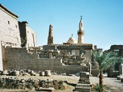 Древняя архитектура Луксора