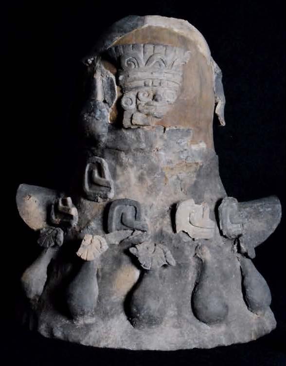 Когда пала столица первой империи Мезоамерики?