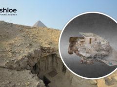 3D модель гробницы в Гизе