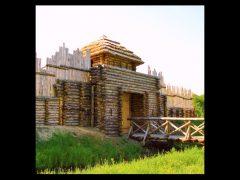 Открытие славянского и древнегерманского подворий в Беловежской пуще