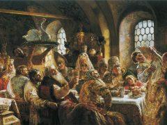 Женский свадебный костюм XVII века