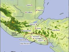 Повлияло ли на древних майя извержение вулкана Илопанго?