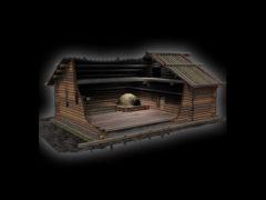 Реконструкция построек средневекового Новгорода