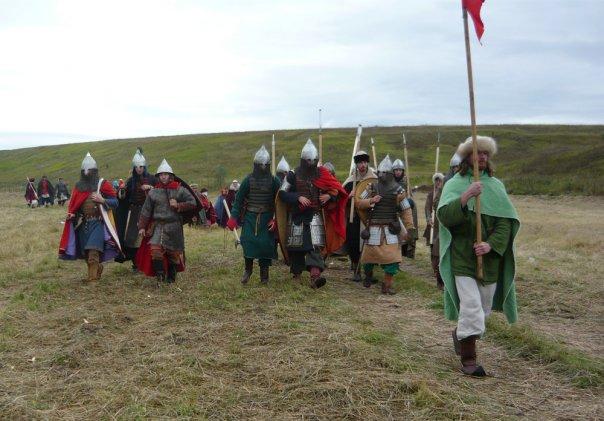Русские воины 14 века