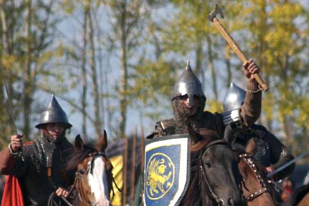 боевые топоры русских воинов