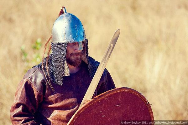 каролингский меч и его владелец