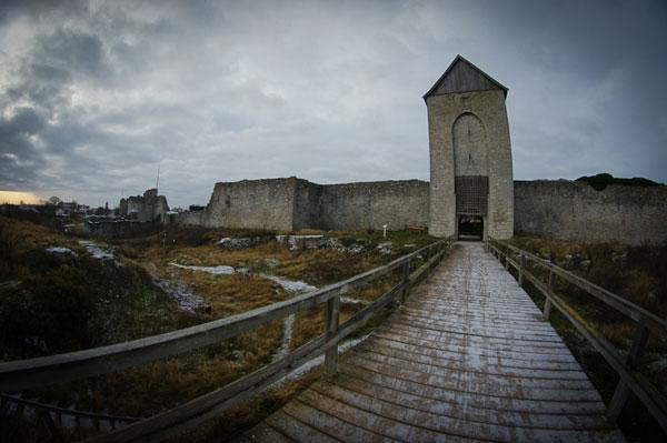 Ворота крепости Визби