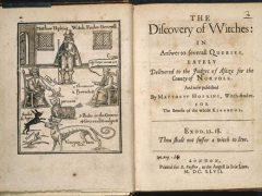 Поступки: охота на ведьм в Британии