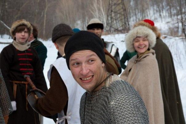 Зачем тевтонские рыцари с дружинниками в снежки играли