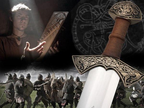 """каролингский меч из Суонтаки - """"Валькирия"""""""