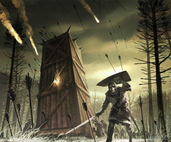 Борьба с осадными башнями