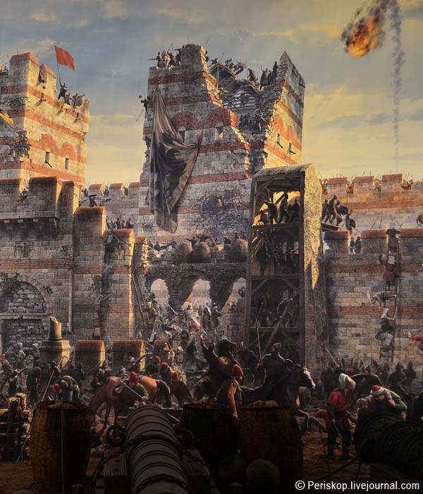 Взятие турками Константинополя