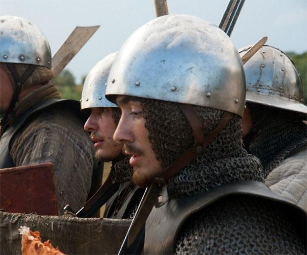 Фламандское ополчение перед битвой прит Куртре