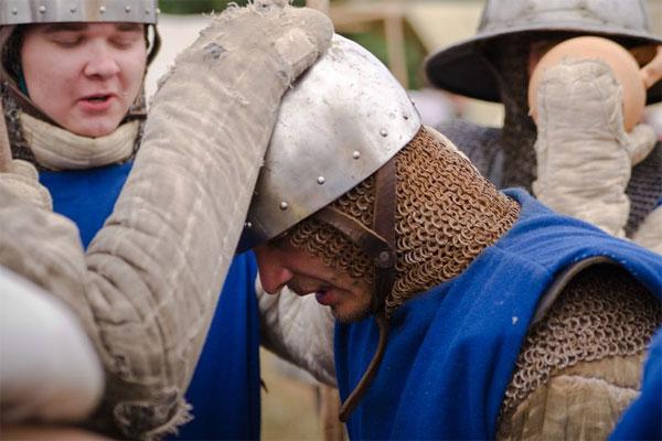 Посвящение Питера Конинка в рыцари