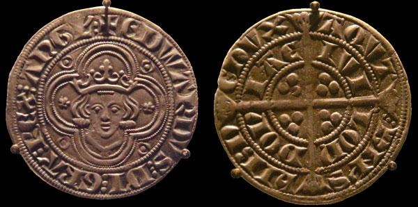 4 енса времен короля Эдуарда Первого Длинноногого