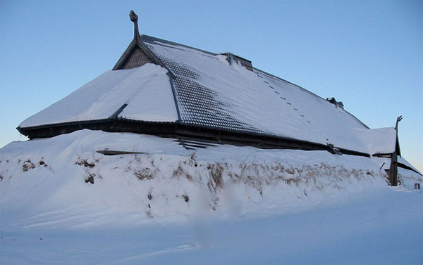 Медовый зал_Бражная зала_зимой