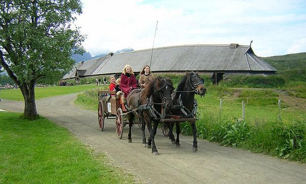Повозка викингов
