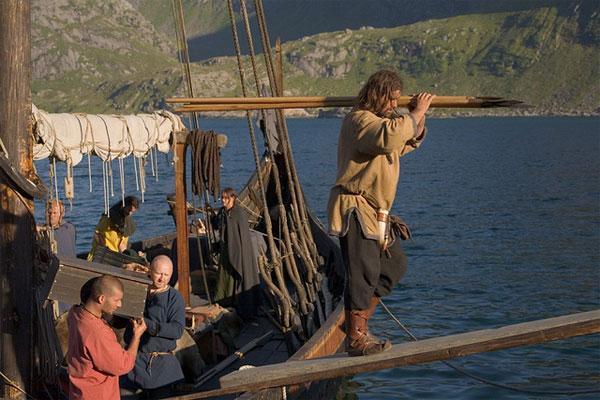Высадка викингов на берег