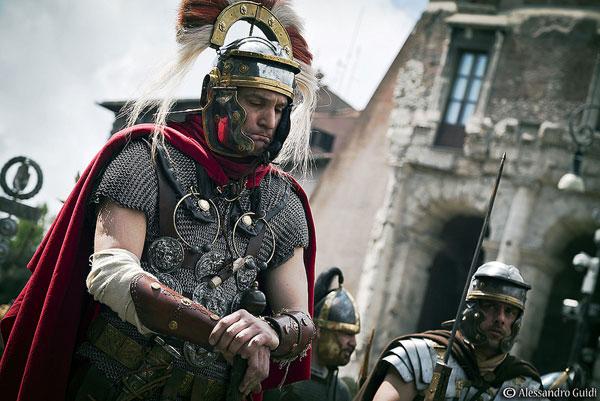 лорика хамата - римская кольчуга