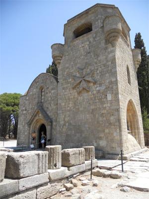 Кафоликон (собор) монастыря Богородицы. XIV век.