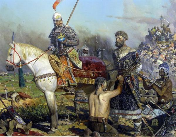 Русский князь в монгольском плену