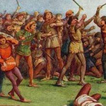 10 февраля 1354 года. Оксфордский майдан