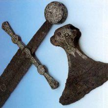 Парадный меч древнего финского воина. 13 век