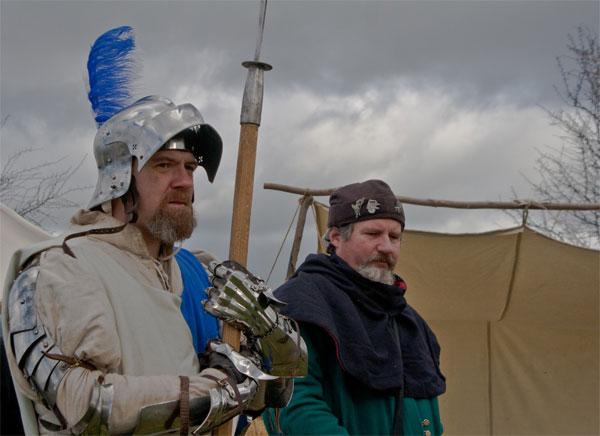 средневековое оружие в битве при Таутоне