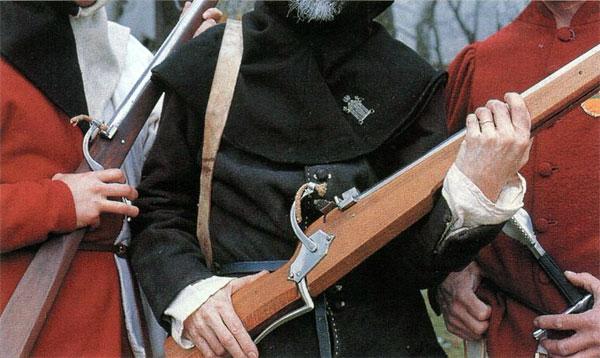 Стрелки в битве при Таутоне