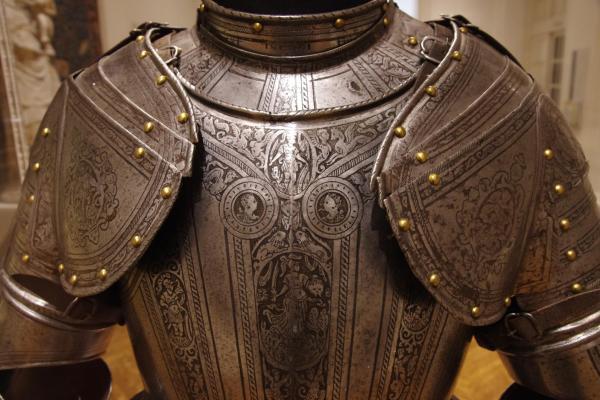 Рыцарские доспехи из Северной Италии