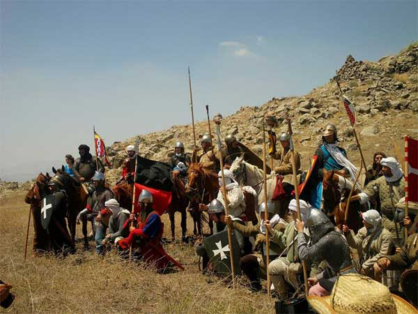 военный поход на рога Хаттина_001
