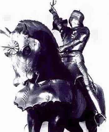 Конские доспехи, 1475-1485 годы