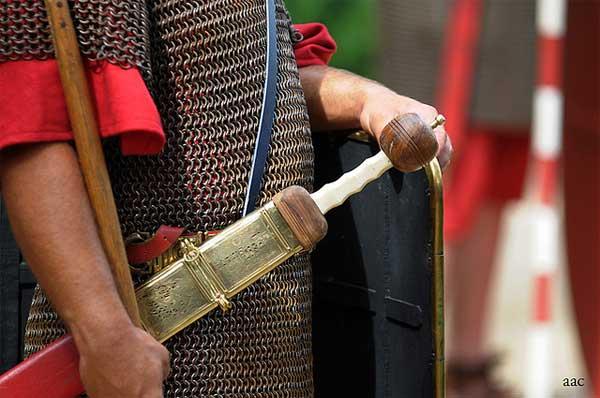 """римский меч """"гладиус""""_реконструкция"""