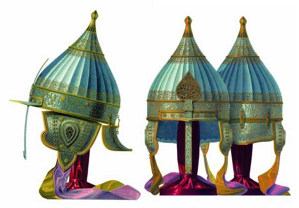 Шлем князя Алексея Львова