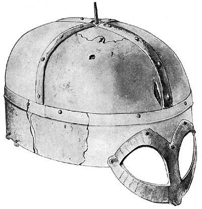 шлем из Гъермундбю_прорисовка