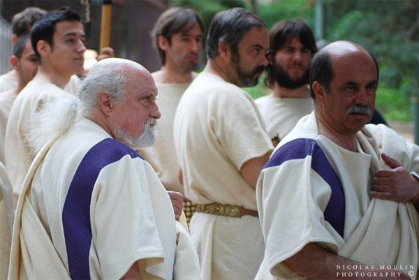 прически римских патрициев