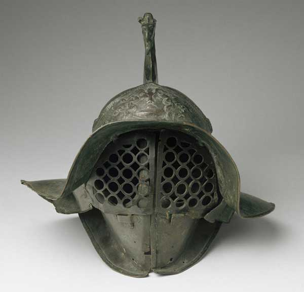 Шлем гладиатора - забрало